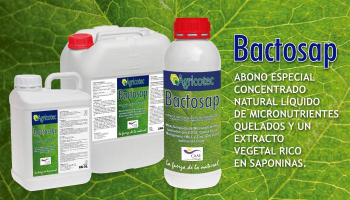 Bactosap envases