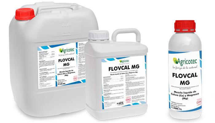 Flovcal Mg Corrector carencias de Calcio y Magnesio envases producto