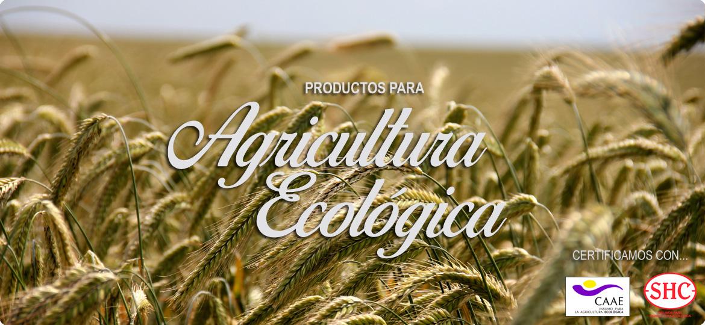 Agricultura Ecológica productos certificados