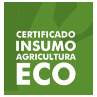 Producto certificado pra agricultura ecológica